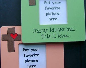 Picture Frame - Original Design - Christian/Inspirational - Free Personalizing