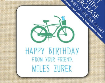 Kids Gift Label, Gift Tags, Birthday Stickers, Personalized Labels, Personalized Gift Stickers, Presents