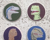 Raptor Pack Patches (Jurassic World)