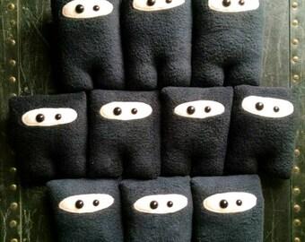 Set of 10 Ninja Nubbins - Black