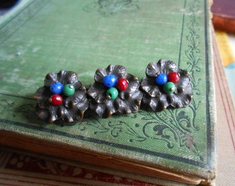 antique beaded brooch - antique victorian jewelry accessories