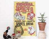vintage shrine circus poster | 1986