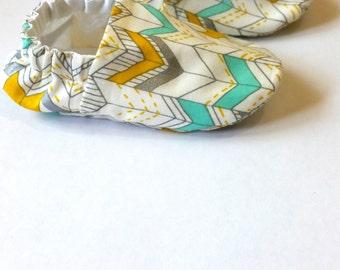 Reversible Baby Shoes, Bandeau