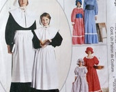 McCall's 2337 - Pilgrim, Pioneer, Settler, Oregon Trail, Little House Costume Pattern - Hard to Find Large XL Size - UNCUT (Size 20 -22)
