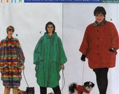 Simplicity 8386 - Full Figure Coats with Matching Dog Jackets - Cute Pattern - Bust 40 to 54 (Waist 33 to 49) - UNCUT