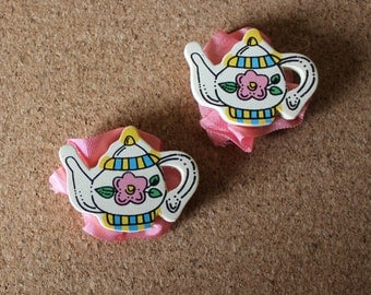 Teapot magnets, set of 2
