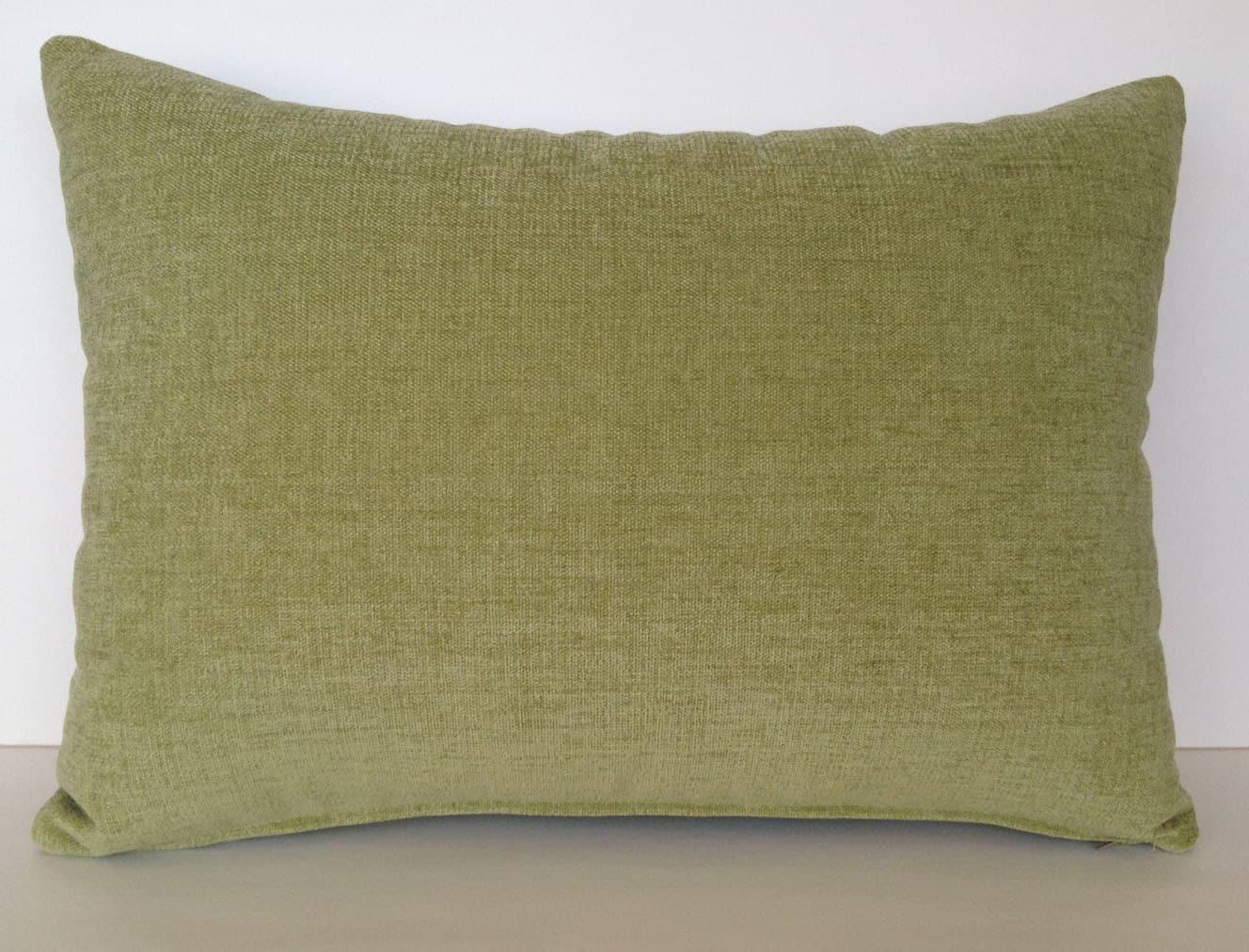 20 x 14 Lumbar Pillow Cover Celery Green Lime