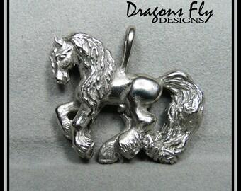 Friesian Pendant Horse Jewelry Friesian Necklace Anton 343 Horse Pendant Necklace Equine Baroque