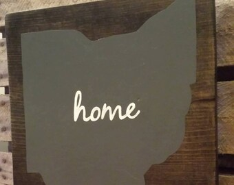 State of Ohio Home Sign