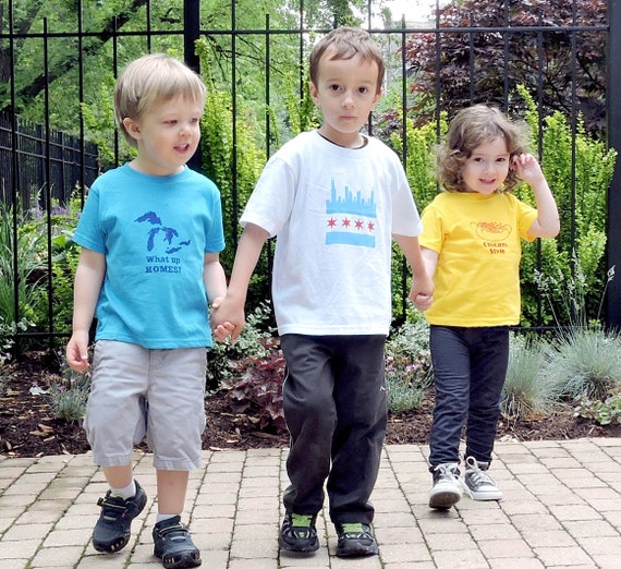 Chicago Skyline Toddler Tee- Pick Your Size