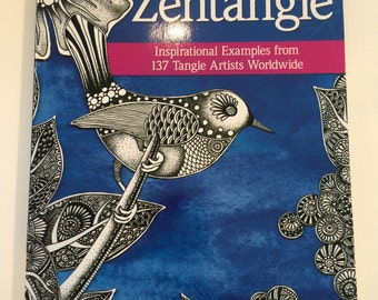 SALE! The Beauty of Zentangle Inspirational Examples from 137 Tangle Artists Worldwide was 24.95 now 18.00