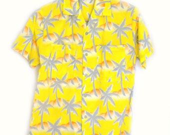 70s Mens Shirt Tropicana Shirt Sz S
