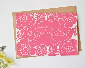 Congratulatons - Card