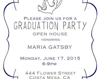 Digital Graduation Invitation/Announcement