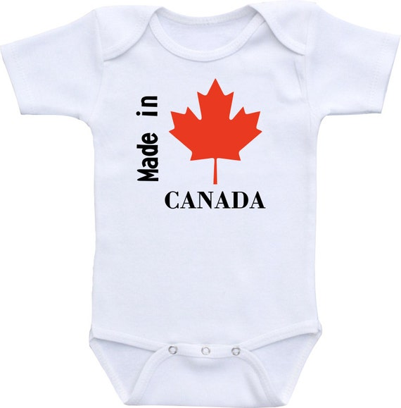 Baby Boy Gifts Canada : Made in canada baby gerber onesie bodysuit cute by clippycabin