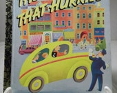 The Taxi That Hurried,  Little Golden Book 1946,1992