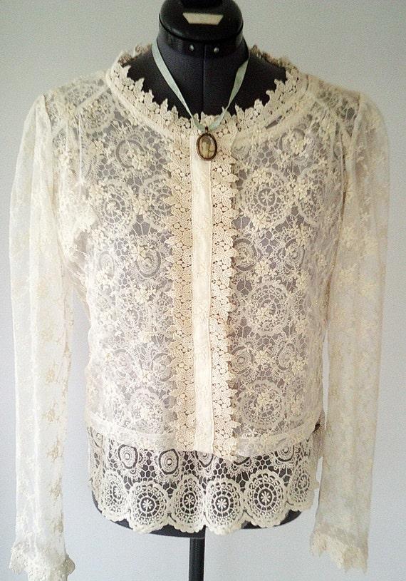 Bridal jacket wedding jacket beige lace jacket lace bolero for Lace jackets for wedding dresses