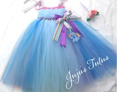 Rainbow Pony Empire Tutu Dress, Inspired by Rainbow Dash