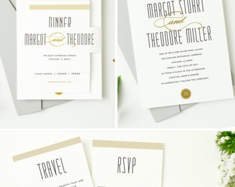 INSTANT DOWNLOAD | Printable Pocket Wedding Invitation | Matchbook | Edit in Word or Pages | Print it Yourself | Mac & PC