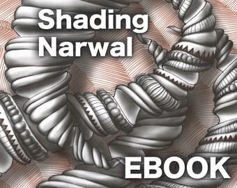 3D Zentangle: Shading Narwal PDF Ebook