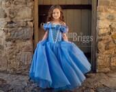 New Cinderella Inspired dress  custom ballgown 6