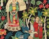 Alexander Henry - Frida's Garden in Black - By the Yard