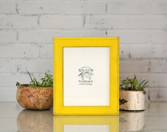 "8x10"" Picture Frame in 1.5 inch Outside Cove Style and in Finish COLOR of YOUR CHOICE - 8x10 Photo Frame"