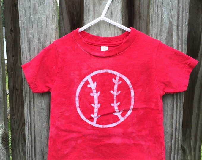 Featured listing image: Kids Baseball Shirt, Toddler Baseball Shirt, Red Basebal Shirt, Boys Baseball Shirt, Girls Baseball Shirt, Baseball Kids Shirt (18 months)