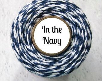 Navy Blue Bakers Twine by Trendy Twine - In the Navy or Classic Navy