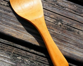 Potato or Rice Scooper Cherry Wood