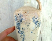 Eternal youth gres pottery vintage bottle