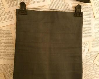 Vintage Blue Bandage Mini Skirt Bodycon