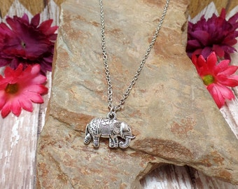 Bohemian Elephant Necklace - Ganesh Necklace