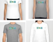 3 Funky Turtles t-shirt, top, tank top, fitted tee, long sleeved