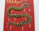 Holiday Foil Card