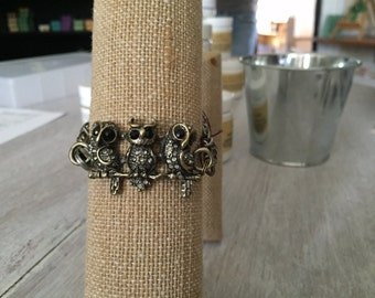 Owl Trio Bracelet