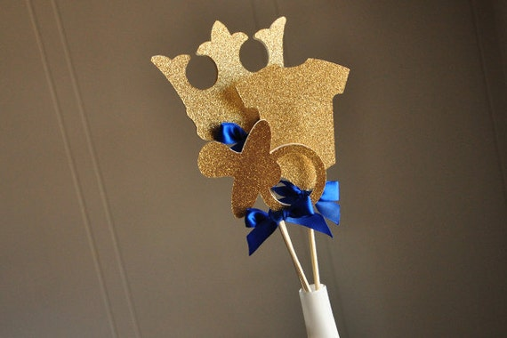 royal prince baby shower decorations handcrafted in 2 5 business days