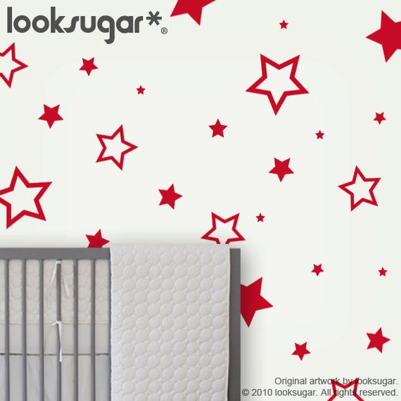 star wall decals children wall stickers baby nursery wall nursery wall decals cuddly bear wall decals with stars and