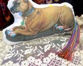 Dog Chakra Doll - Reiki Distance Healing - Organic Herbs Aromatherapy