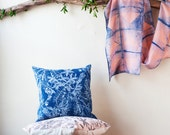 Dye Garden Pillow Cover