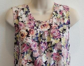 M- Post Surgery Shirt - Shoulder, Breast Cancer, Mastectomy, Heart / Special Needs / Adaptive Clothing / Rehab / Breastfeeding -Style Sara