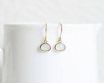 Brynn Earrings - Gold/Grey