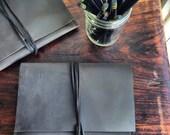 Hubert iPad mini case, handmade mini iPad case, dark brown water repellent leather cover, handmade leather iPad mini covers & cases by Aixa
