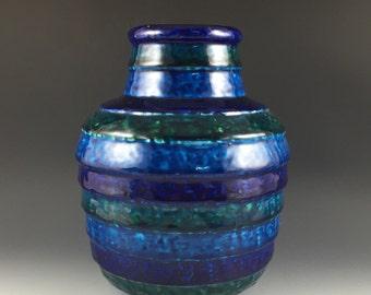 Italian vase by Aldo Londi for Bitossi