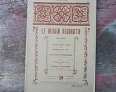 French School Drawing Book Le Dessin Decoratif