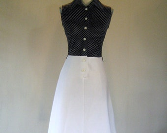 1960s Polka Dot Day Dress JCPenney Fashions