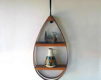 Hanging Teardrop Shelf