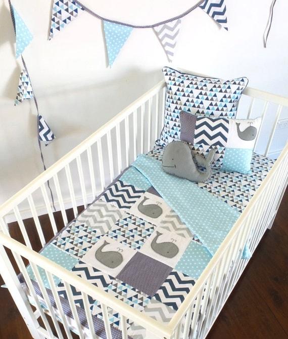 Etsy Baby Boy Crib Bedding