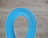 """2 mm paper strips //  Paper Quilling Strips // BLUE // 100 STRIPS // 2 mm wide //  297 mm 11,7"""" long"""