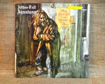 Jethro Tull - Aqualung - 1971 Vintage Vinyl Gatefold Record Album